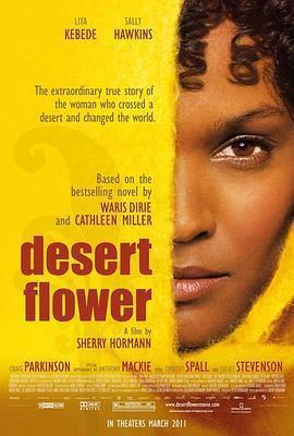 沙漠之花 电影海报