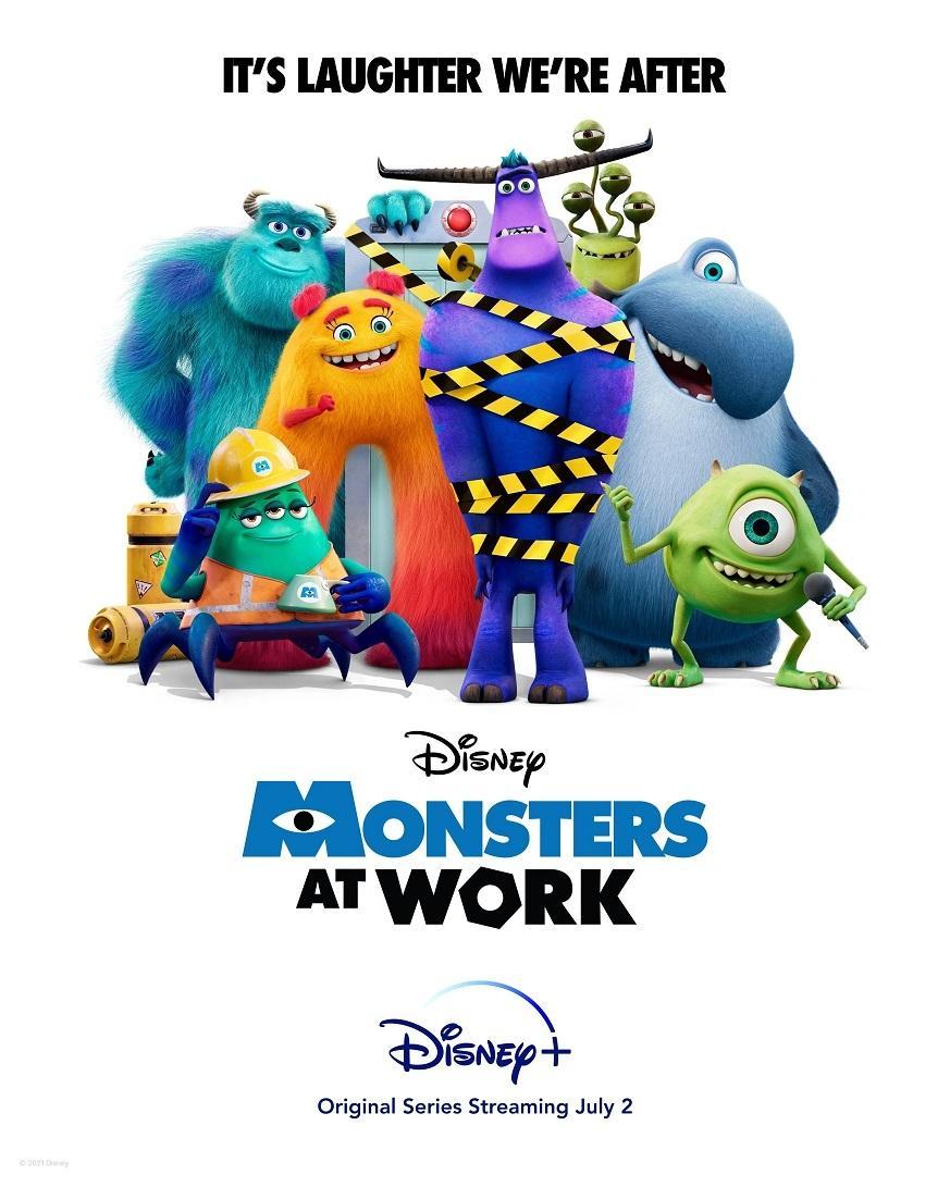 【怪兽在工作/Monsters at Work】[第一季][中英双字]更新第3集