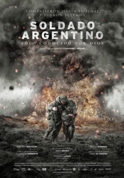 信仰上帝的阿根廷士兵海报