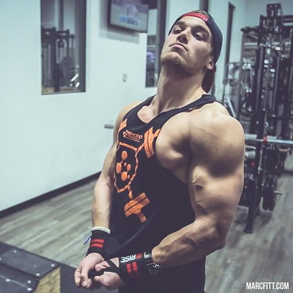 健身男模Marc Fitt训练图片 Marc Fitt肌肉