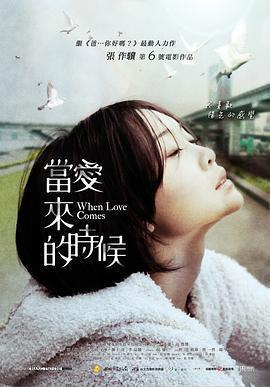 当爱来的时候 电影海报