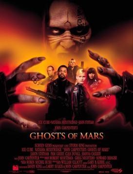 火星幽灵海报