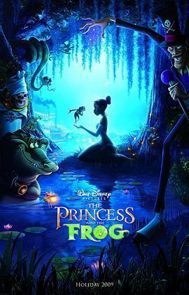 公主与青蛙 电影海报
