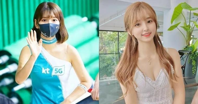 韩国应援啦啦队女神李河润