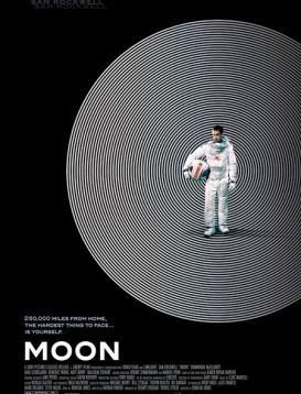 月球/2009月球漫游海报