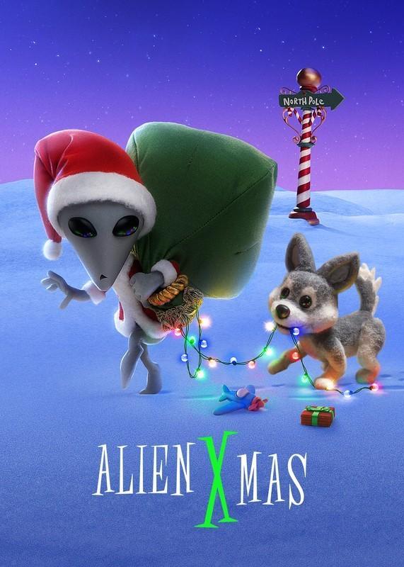 外星圣诞劫海报