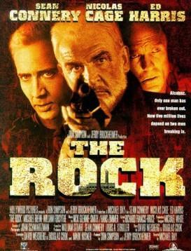 勇闯夺命岛 The Rock 电影海报