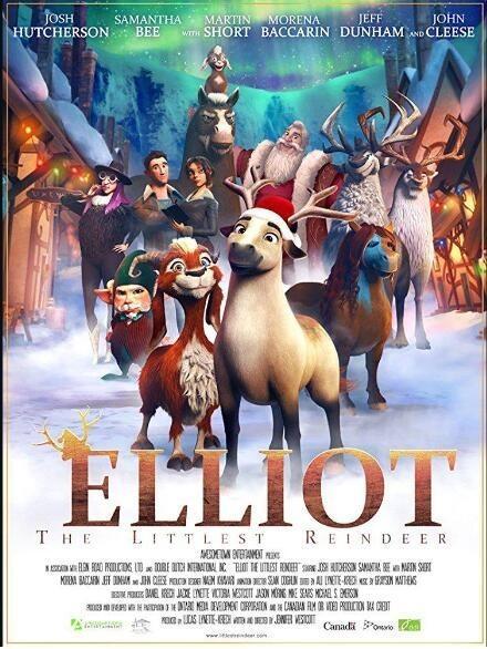 小小驯鹿艾略特海报