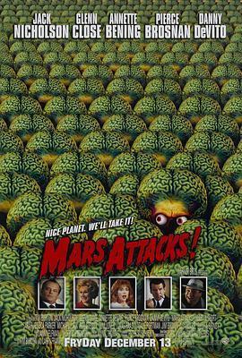 火星人玩转地球 电影海报
