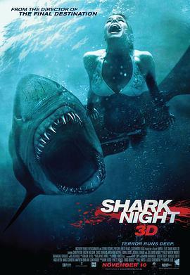 鲨鱼惊魂夜 电影海报