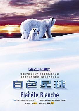 白色星球海报