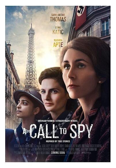 自由主义者间谍的时代/二战女谍海报