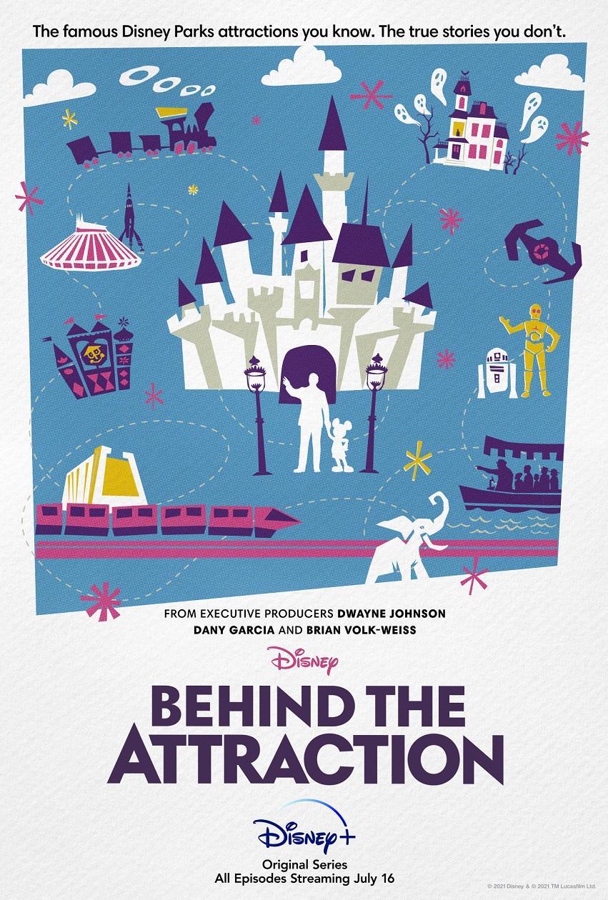 【迪士尼乐园项目背后的故事/Behind the Attraction】[第一季][中英双字]更新第3集