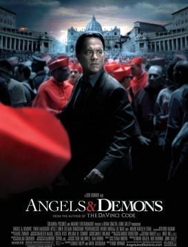 天使与恶魔海报