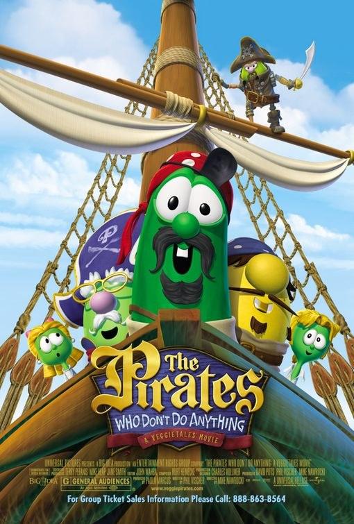 无所事事的海盗海报