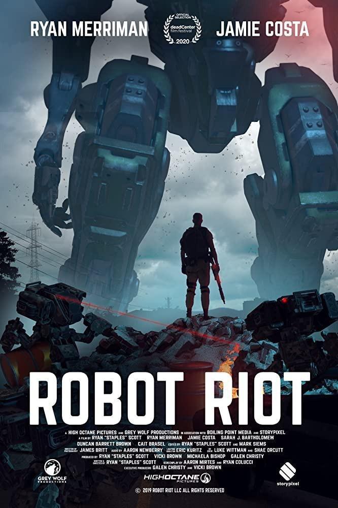 机器人暴动海报