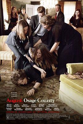 八月:奥色治郡 电影海报