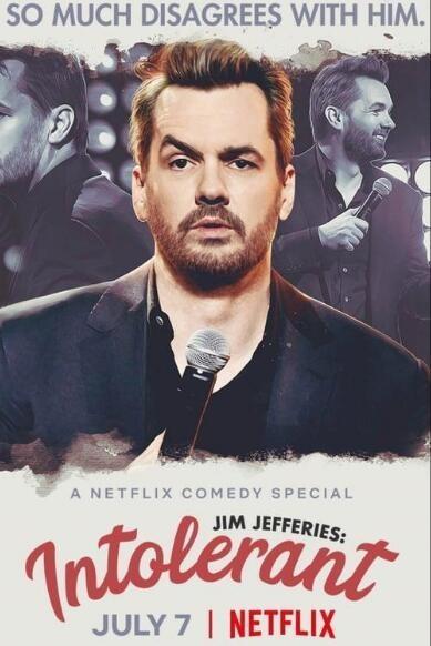 吉姆·杰佛瑞斯:不宽容海报