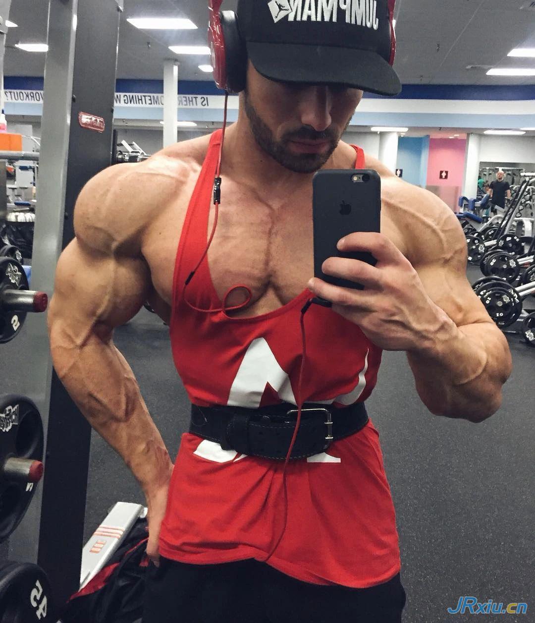 超帅俄罗斯性感肌肉男模Roman Khodorov