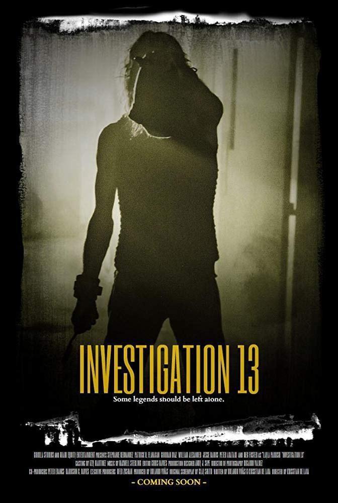 凶杀13号海报