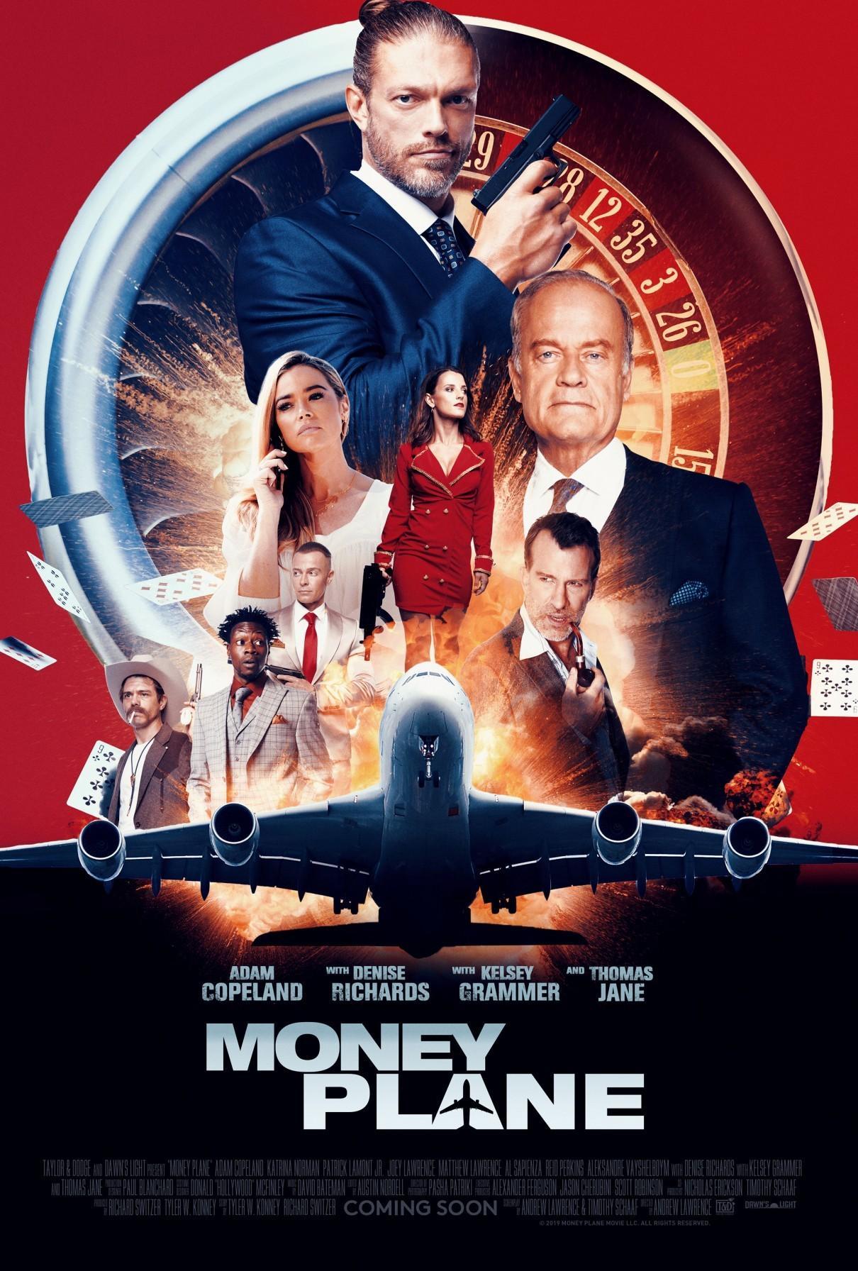 黑钱飞机海报