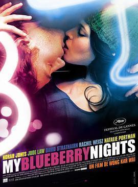 蓝莓之夜 电影海报