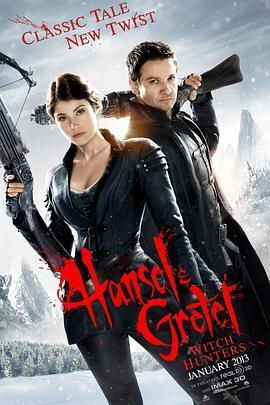 韩赛尔与格蕾特:女巫猎人 电影海报