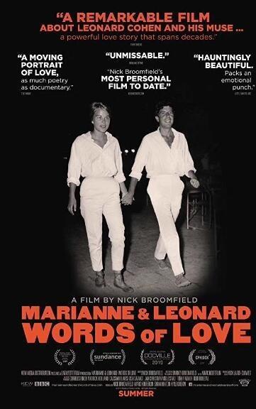 玛丽安和莱昂纳德:情话海报