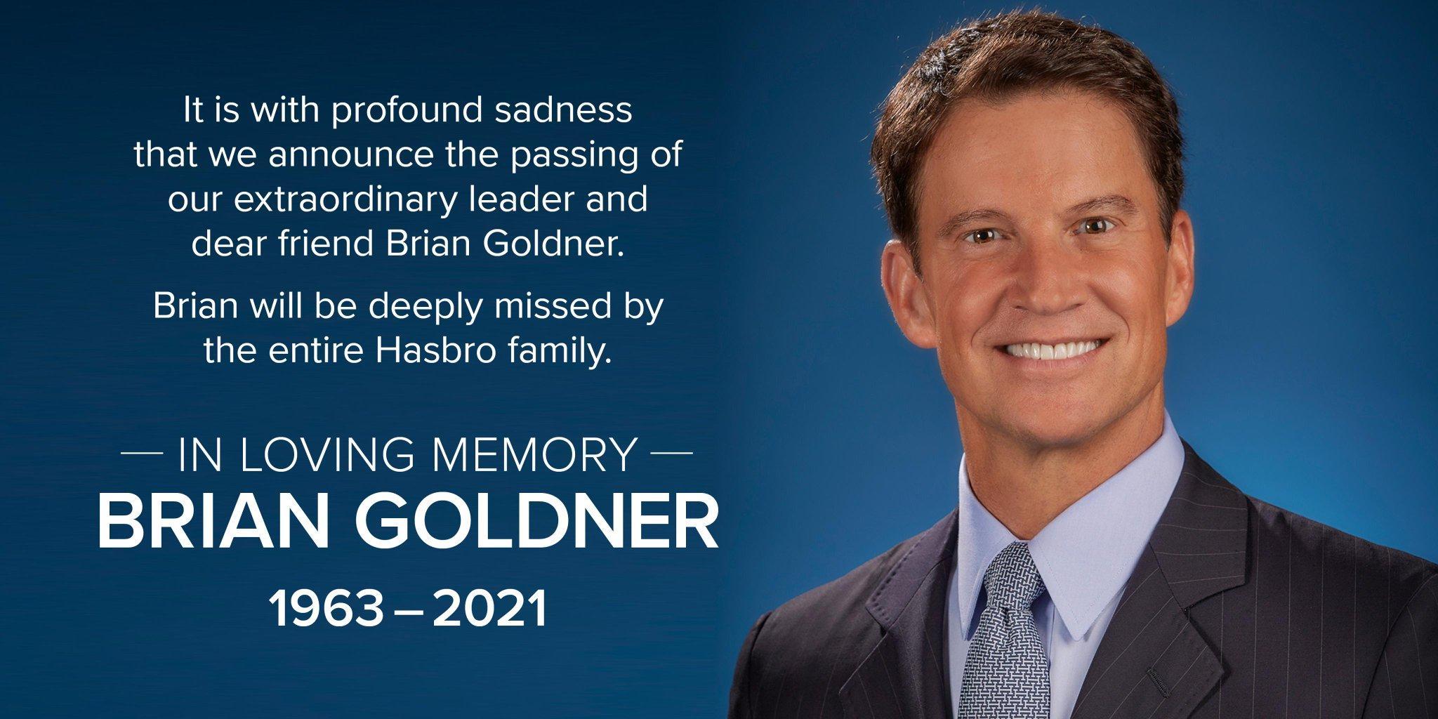 孩之宝 CEO Brain Goldner