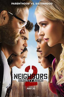 邻居大战2:姐妹会崛起 电影海报