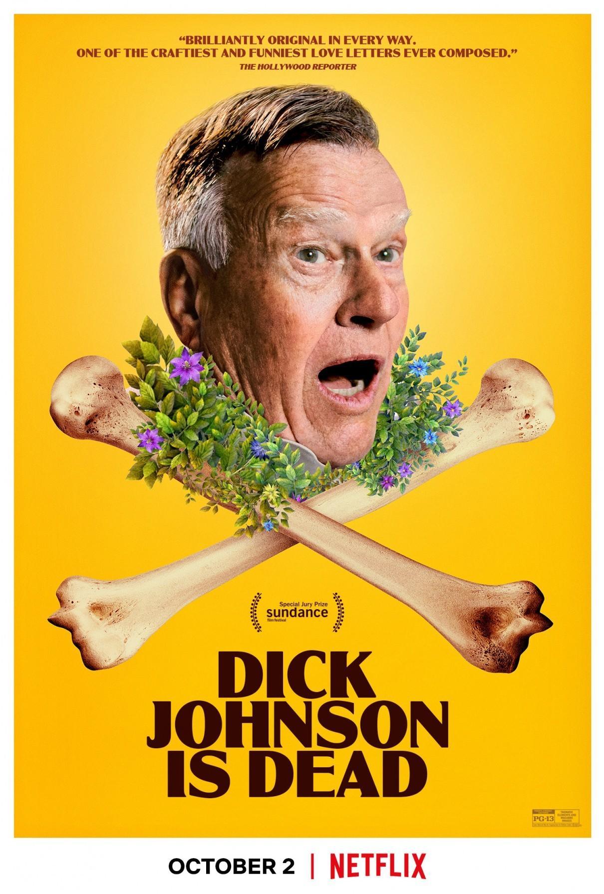 迪克·约翰逊已死海报