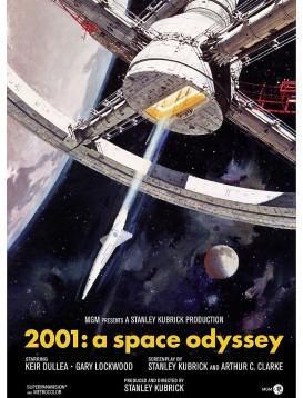 2001太空漫游海报