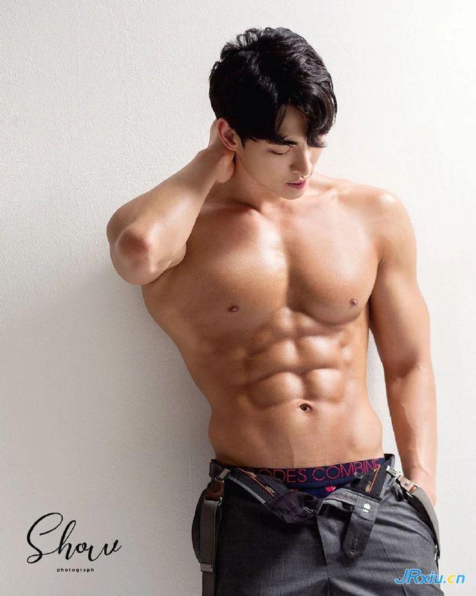 男模   韩国健体运动员Ahn Sung Hwan