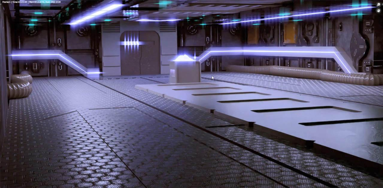 Making The Scifi Environment – The Ultimate Blender 3D Environments Course