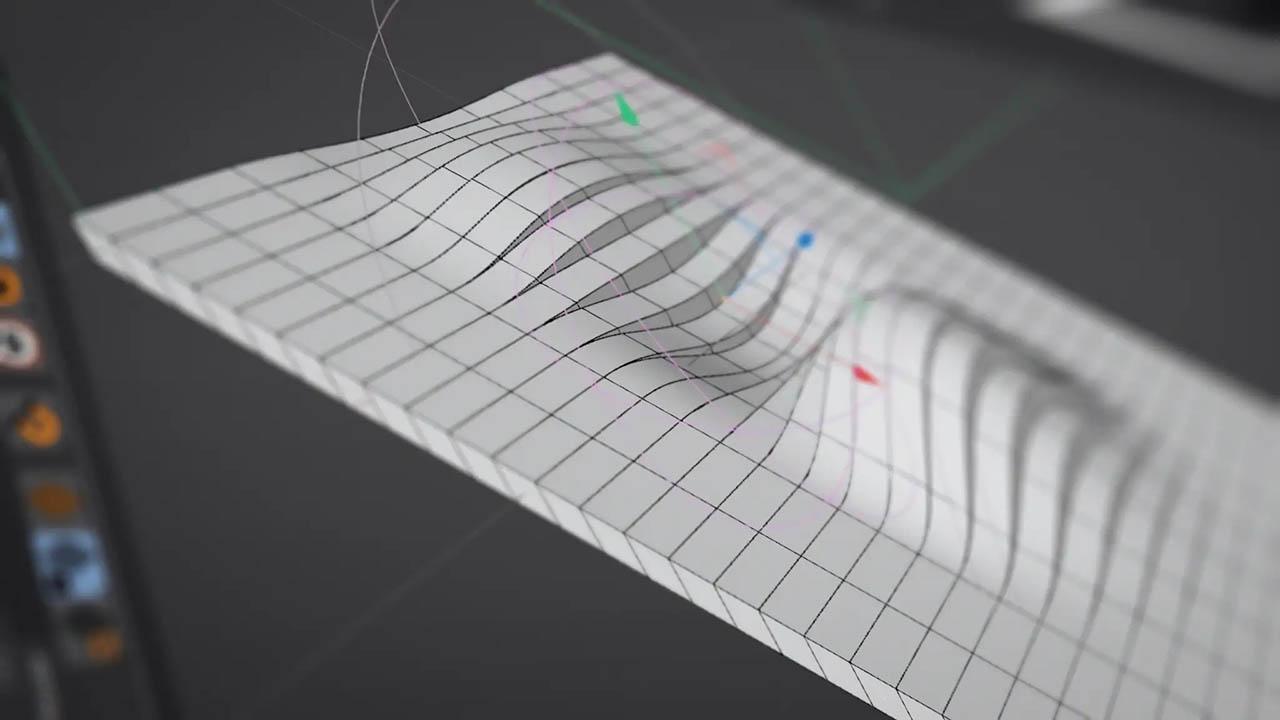 Greyscalegorilla Plus Mesmerizing Mosplines 灰猩猩GSG循环波形曲线动画 C4D MoSplines教程