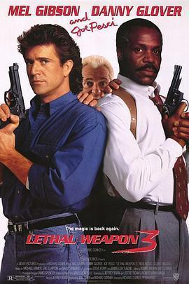 致命武器3 电影海报