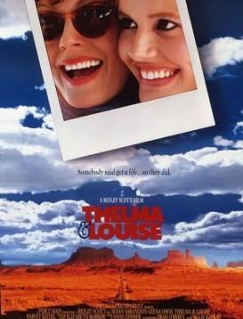 末路狂花 Thelma & Louise  电影海报