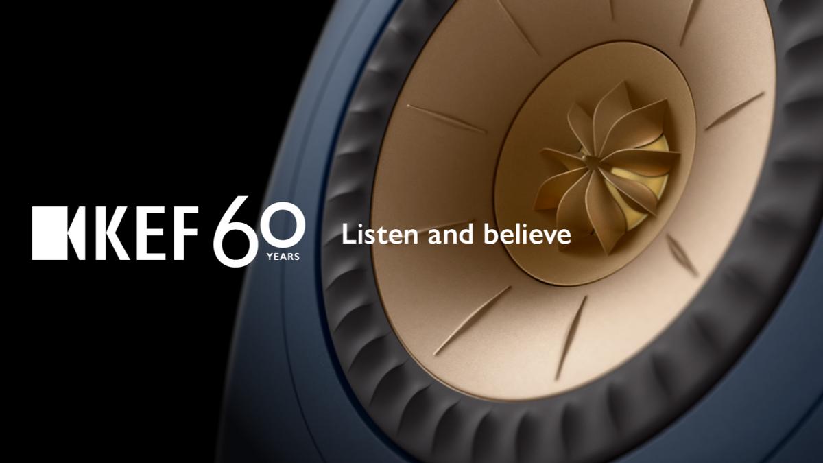 KEF六十周年庆:聆听真实,传声未来