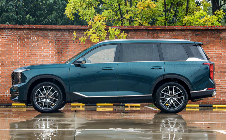尺寸超汉兰达 不到20万可入手 这款全新中大型SUV四季度上市