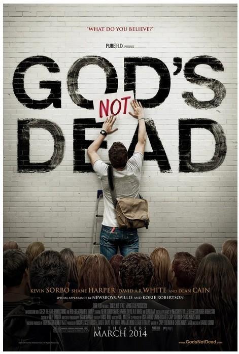 上帝未死 电影海报
