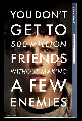 社交网络  电影海报