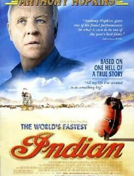 世上最快的印第安摩托海报
