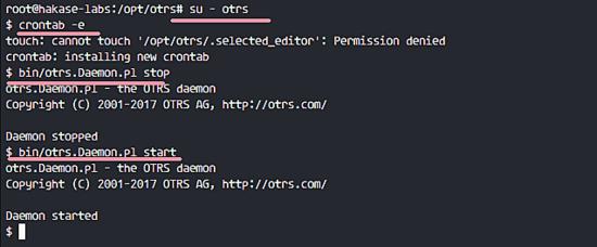 在 Ubuntu 16.04 上安装 OTRS技巧在 Ubuntu 16.04 上安装 OTRS技巧