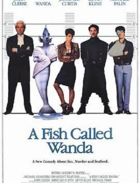 一条名叫旺达的鱼海报