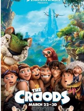 疯狂原始人 The Croods 电影海报