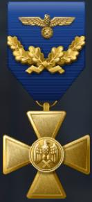 仙女帝国国防军长期服役嘉奖勋章