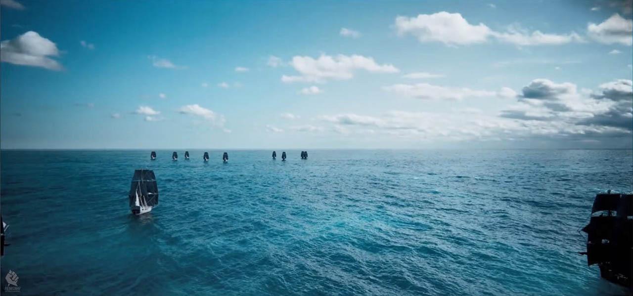 Ocean Rendering Using Redshift – Houdini Redshift渲染器海洋场景制作教程