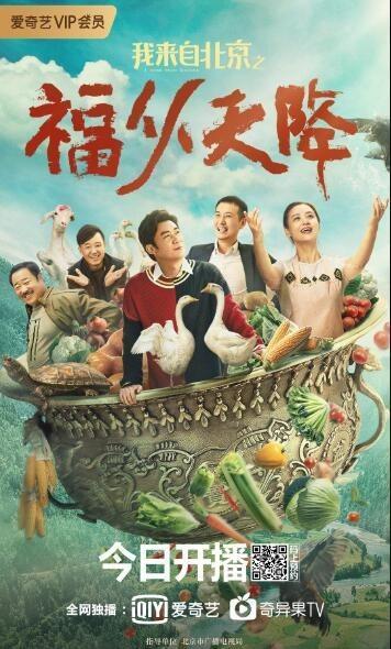 我来自北京之福从天降海报