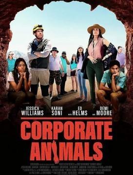 企业动物海报