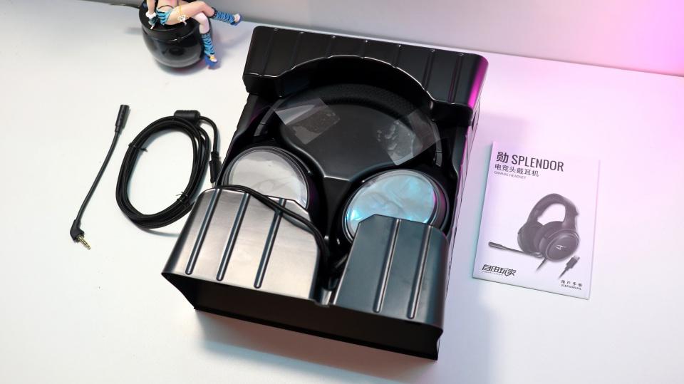 听声辨位,环绕振感 自由玩家-勋SPLENDOR电竞头戴耳机评测